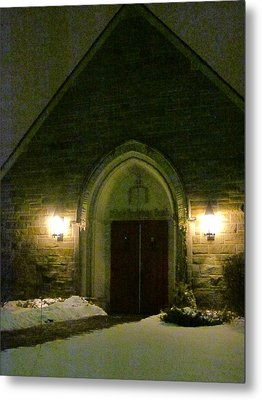 The Old Church Metal Print by Guy Ricketts