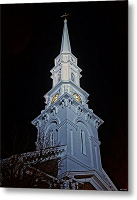 The Old Clock Tower 01 Metal Print