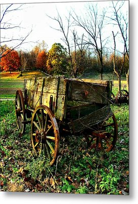 The Old Conestoga Metal Print