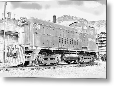 The Old Coors Switcher Metal Print by J Griff Griffin