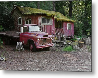 The Old Couple Of Hales Grove Metal Print by Christine Till