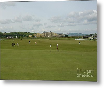 The Old Course Metal Print