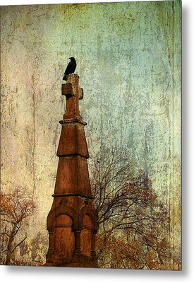 The Old Cross Metal Print by Gothicrow Images