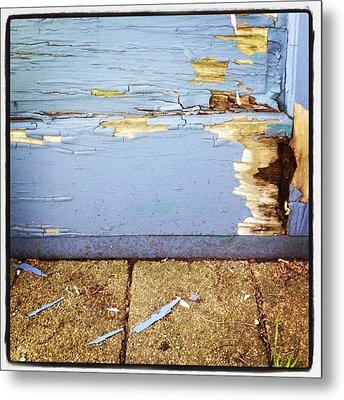The Old Door Metal Print by Christy Beckwith