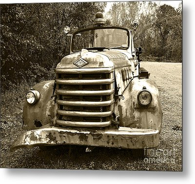 The Old Engine Metal Print by John Debar