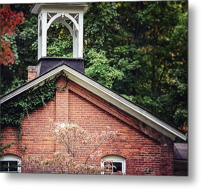 The Old Erie Schoolhouse Metal Print by Lisa Russo