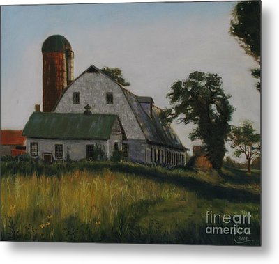 The Old Farm In Fredrick Maryland Metal Print