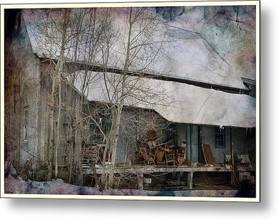 The Old Feed Mill Metal Print by Cynthia Nichols