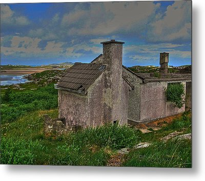 The Old Hilltop Metal Print by Kandy Hurley