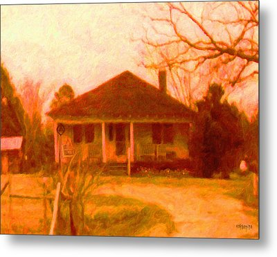 The Old Home Place Metal Print by Rebecca Korpita