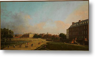 The Old Horse Guards From St James S Park Metal Print