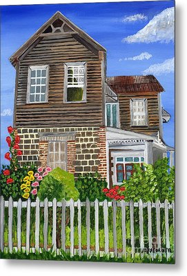 The Old House Metal Print by Laura Forde