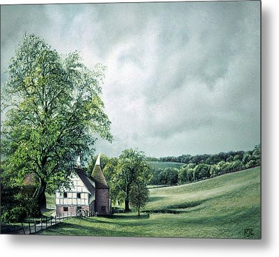 The Old Lime Tree Metal Print