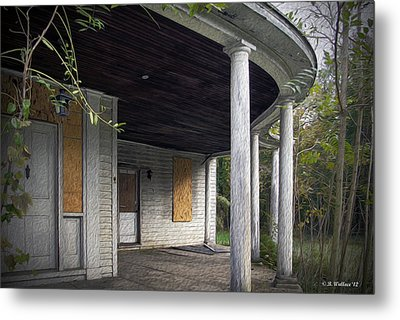 The Old Lowman Place Metal Print by Brian Wallace