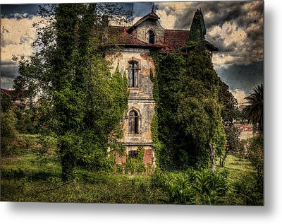 The Old Manor Metal Print