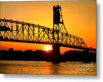 The Old Mighty Span Metal Print by Olivier Le Queinec