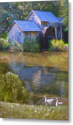 The Old Mill At Mabry Metal Print