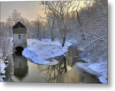 Metal Print featuring the photograph The Old Mill by Dan Myers