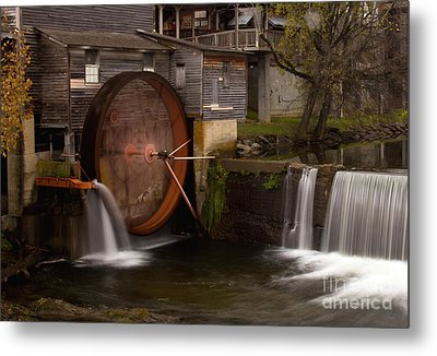 The Old Mill Detail Metal Print
