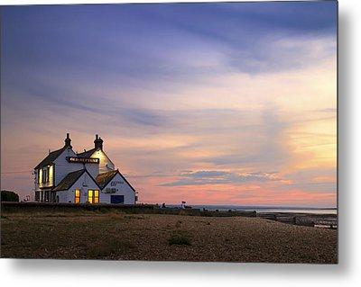 The Old Neptune - Whitstable  Metal Print by Ian Hufton