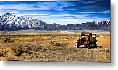 The Old One Metal Print by Robert Bales