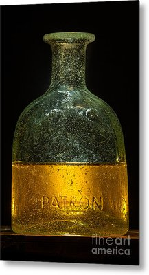 The Old Patron Metal Print