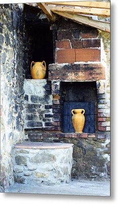The Old Pizza Oven Metal Print by Dorothy Berry-Lound