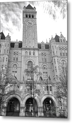 The Old Post Office  Metal Print by Olivier Le Queinec