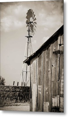 The Old Ranch Metal Print