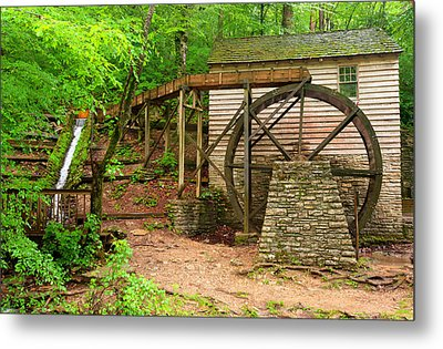 The Old Rice Mill Metal Print by Gregory Ballos
