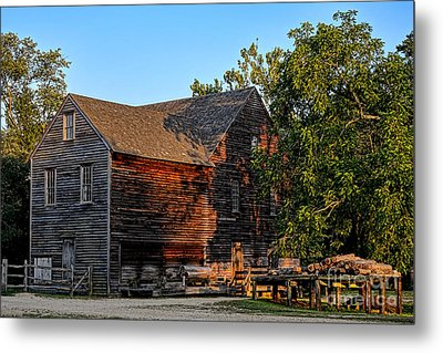 The Old Sawmill Metal Print by Olivier Le Queinec