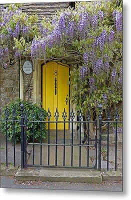 The Old School House Door Metal Print