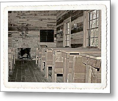 The Old Schoolhouse Metal Print by Susan Leggett