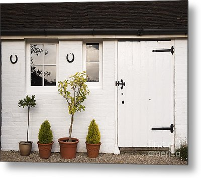 The Old Shed Metal Print by Louise Heusinkveld