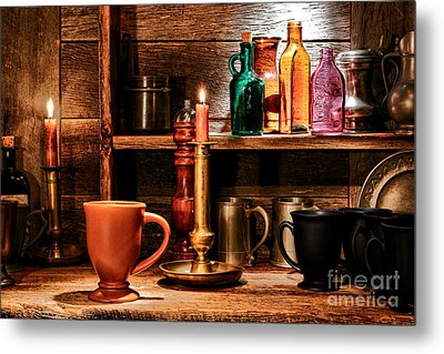The Old Tavern Metal Print by Olivier Le Queinec