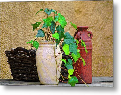 The Old Times Metal Print by Carolyn Marshall