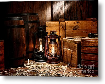 The Old Warehouse Metal Print