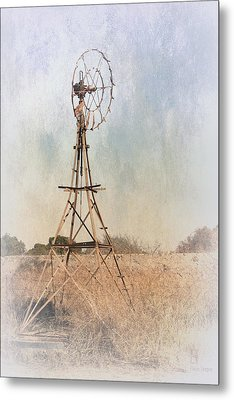 The Old Windmill Metal Print by Elaine Teague