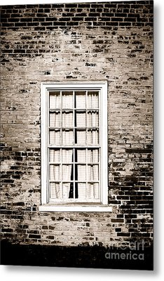 The Old Window Metal Print by Olivier Le Queinec