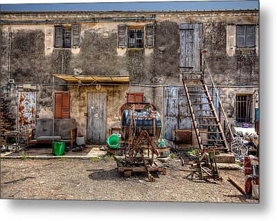 Metal Print featuring the photograph The Old Workshop by Uri Baruch