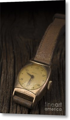 The Old Wrist Watch Metal Print