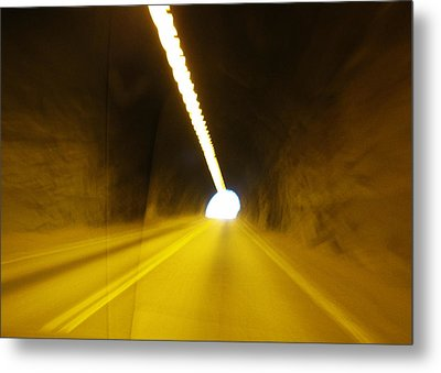 The Only Way Out Metal Print by Tammy Sutherland