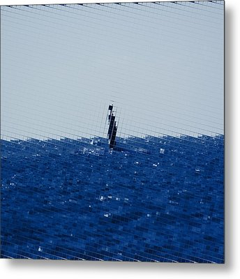 The Open Sea Metal Print by Tommytechno Sweden