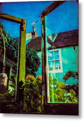 Metal Print featuring the photograph The Open Window by Chris Lord