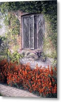 The Open Window Metal Print by Rosemary Colyer
