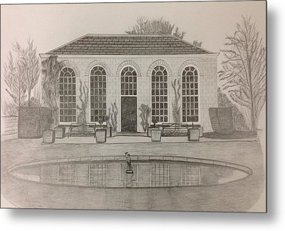 The Orangery Metal Print by Norman Richards