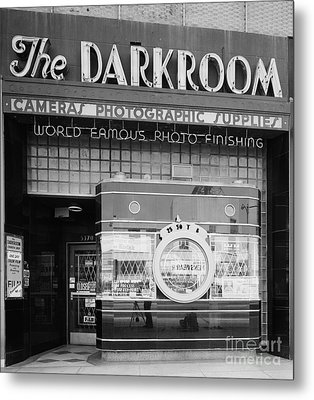 The Original Darkroom Metal Print by Edward Fielding