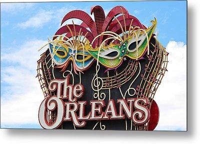 The Orleans Hotel Metal Print by Cynthia Guinn