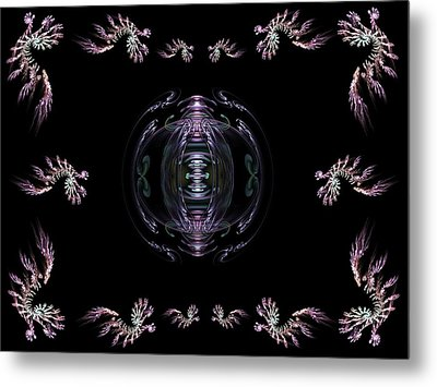 The Ornament II Metal Print by Ricky Kendall