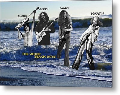 The Other Beach Boys Metal Print by Ben Upham III